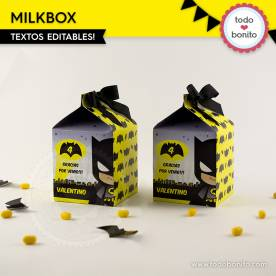Batman: cajita milkbox
