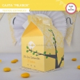 Pajarito amarillo: milkbox