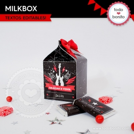 Rock: cajita milkbox