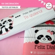 Pandita: Kit decoración