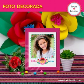 Frida: foto decorada
