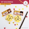Harry Potter: kit etiquetas de golosinas