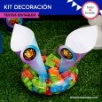 Fortnite: kit imprimible decoración de fiesta