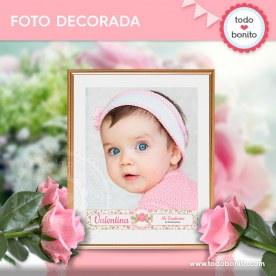 Shabby Chic Rosa: foto decorada