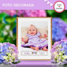 Shabby Chic Lila: foto decorada