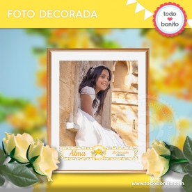 Shabby Chic Amarillo: foto decorada