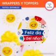 Infantil: wrappers y toppers