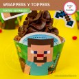 Minecraft: wrappers y toppers